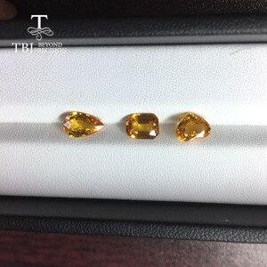 Image 2 - Tbj,ธรรมชาติอุ่นสีเหลือง 1CT UP คุณภาพดีเล็กน้อยรวมอัญมณีสำหรับ DIY GOLD เครื่องประดับ