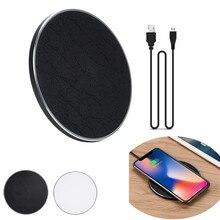 Новый 2018 QI Беспроводной Зарядное устройство Мощность Зарядное устройство Беспроводной зарядного устройства для iPhone 8/8 plus/X для Samsung Galaxy 180116 бесплатная доставка