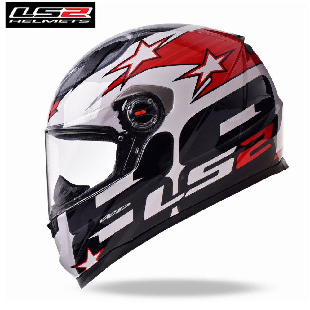 LS2 FF358 CLASSIQUE Capacetes de Motociclista Moto Casque Intégral Moto Hommes Racing Casque Moto Casco nouveauté