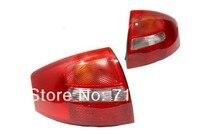 Вишневый красный светодиод задний фонарь для VW Мужские Поло 9N3