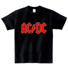 2019 summer hot sale t-shirt kids T Shirt AC DC Children Casual T-shirt AC/DC Graphic Boy Girl Rock Tee Toddler Costume цена 2017