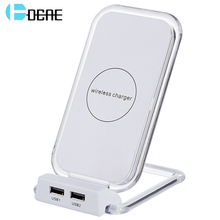 DCAE Qi Fast Wireless Charger Qi Charger Wireless Fast Phone Charger for Apple iPhone 8 8Plus