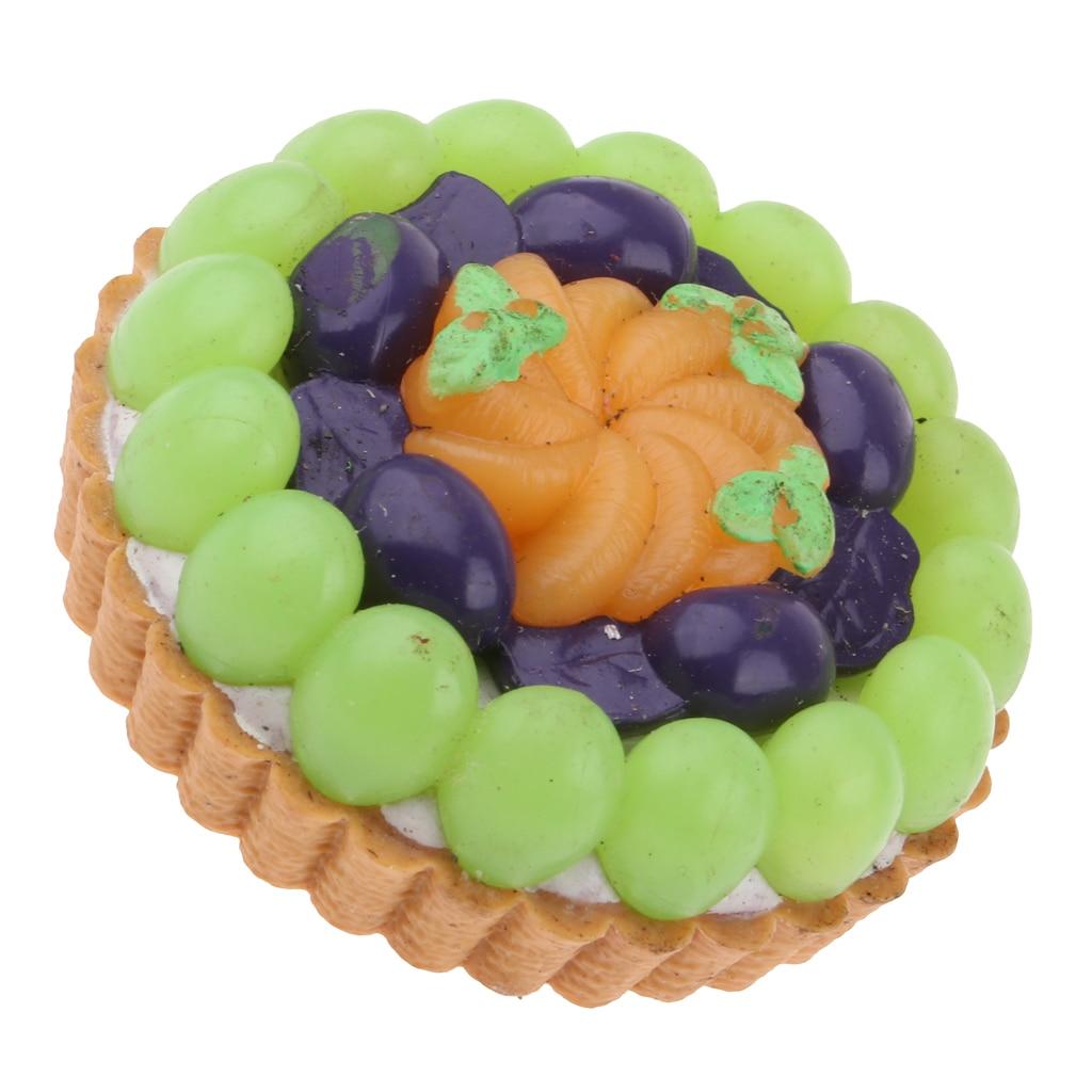 Chocolate Blueberry Creams Dunmore Candy Kitchen: Miniature Food Toys Dessert Model Blueberry Fruit Cream