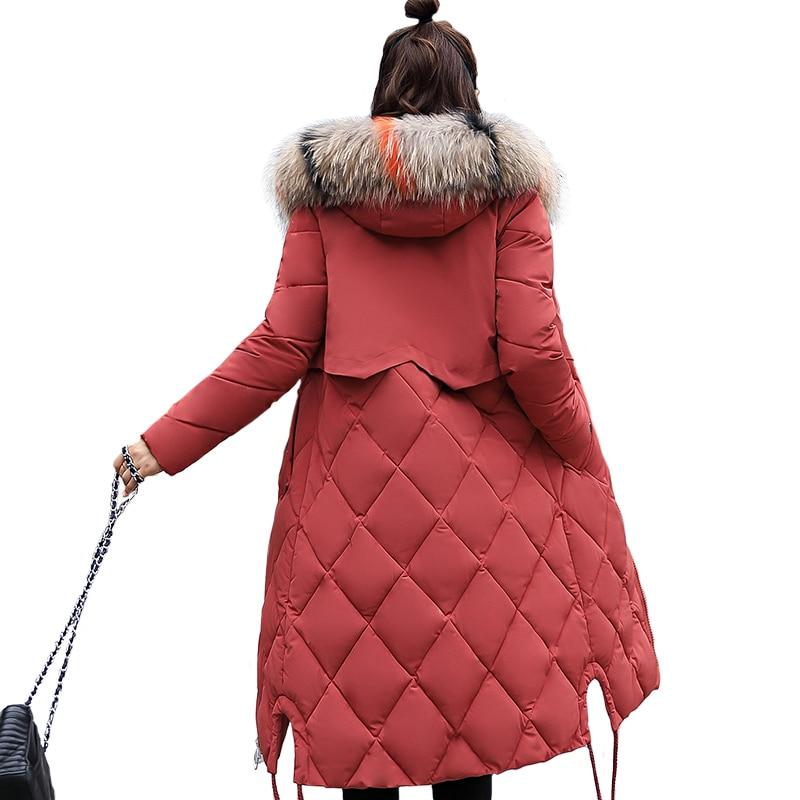 Beieuces Winter Jacket Γυναικεία Faux Γούνα Με - Γυναικείος ρουχισμός - Φωτογραφία 2