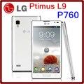 Первоначально открынный LG Optimus L9 P760 двухъядерный мп GPS WIFI LTE 4 ГБ ROM смартфон бесплатная доставка