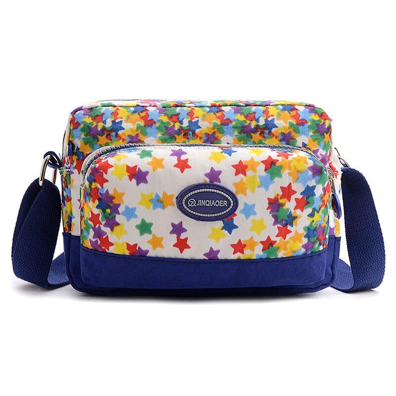 8950641d541 Mujeres Bolsas moda nylon impermeable cremallera sólido mano Bolsas bolsa  feminina mensajero Bolsas