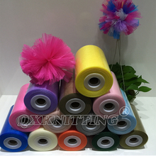 Nylon Tulle Roll for TUTU Dress 6 inches 100 yards roll tulle 40 colors available soft tulle