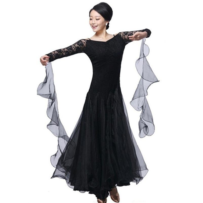 Mulher vestidos de competição de dança de salão personalizar vestido de baile para dança de salão traje de dança moderna valsa vestido tango