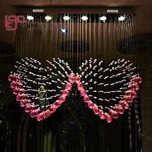 Neue Lüster Rosa Kronleuchter Cristal Lampen Für Schlafzimmer Führte  Kronleuchter