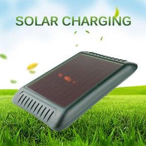 Image 4 - Zonne energie Animal Repeller Waterdichte Pir Sensor Outdoor Tuin Anti Kat Hond Usb Ultrasonics Solar Alarm Drive Repeller