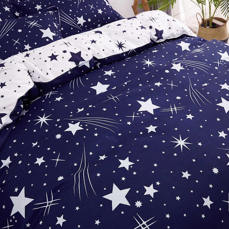 Slow dream nordique Star parure de lit Double reine roi linge de lit Euro décor literie Textiles de maison couvre-lit adulte enfant drap de lit