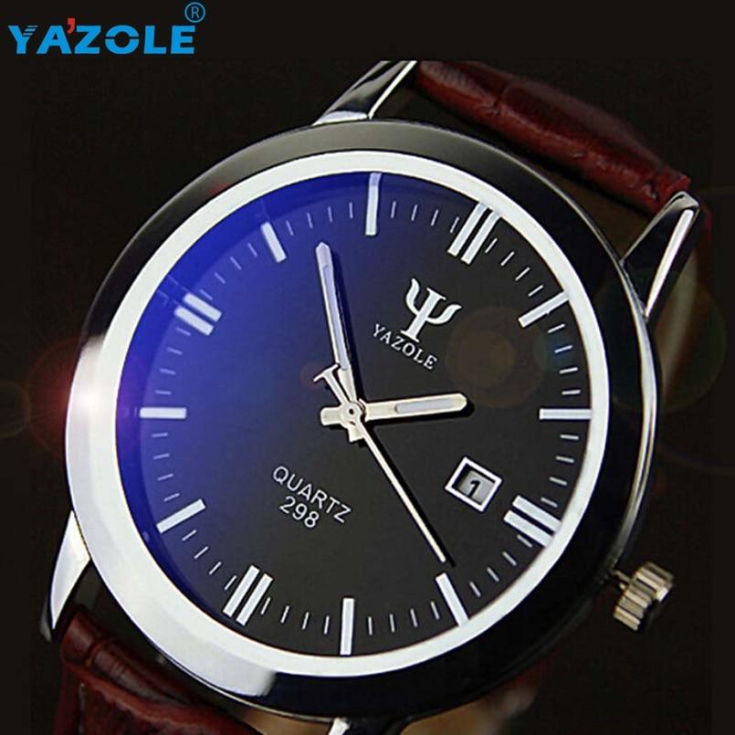 YAZOLE Wrist Watch Men Famous Wristwatch Male Clock Quartz Watch Hodinky Quartz-watch Relogio Masculino s15