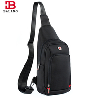 BALANG Lightweight Functional Shoulder Bags Casual Outside Large Capacity Messenger Bag Durable Oxford Clossbody Bags For