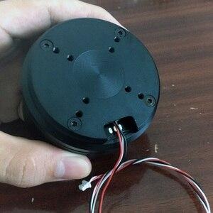 Image 3 - 1 adet HT6025 Gimbal Motor büyük tork fotoelektrik Pod fırçasız w AS5048A/AS5600 kodlayıcı DIY Robot ortak sürücü s