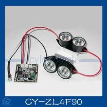 Пятно Света Инфракрасный 4x ИК СВЕТОДИОДНЫЕ табло для CCTV камеры ночного видения. CY-ZL4F90(China (Mainland))