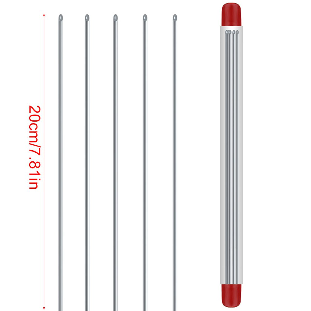 Quick Earthworm Hooking Needle Stainless Steel Pins Fishing Tools Bait Hooks No-Escaping 20cm
