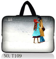 Snow Lovers 13 13 3 Black Laptop Sleeve Bag Case Handle For Apple Macbook HP Dell