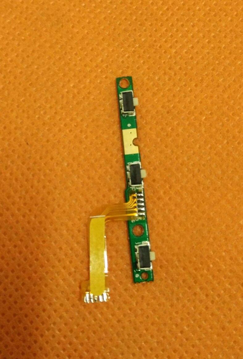 Original Power On Off Bouton Volume Key Flex Câble FPC Pour HOMTOM HT7 MTK6580 5.5 pouce 1280x720 HD Quad Core Livraison gratuite