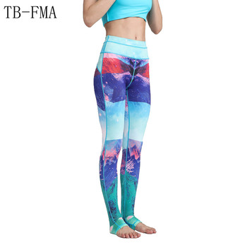 Yoga Leggings Sports Pants Yoga Women sports clothing trousers Fitness yoga Compression Sport Tights Yoga Sportswear gym clothes 1