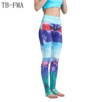 Yoga Leggings Sports Pants Yoga Women sports clothing trousers Fitness yoga Compression Sport Tights Yoga Sportswear gym clothes 1
