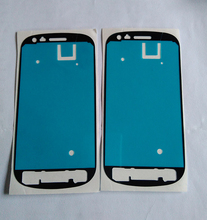 Brand New 5pcs/lot Front Frame Adhesive Sticker For Samsung Galaxy S3 mini i8190 Digitizer LCD Assembly Frame Cover