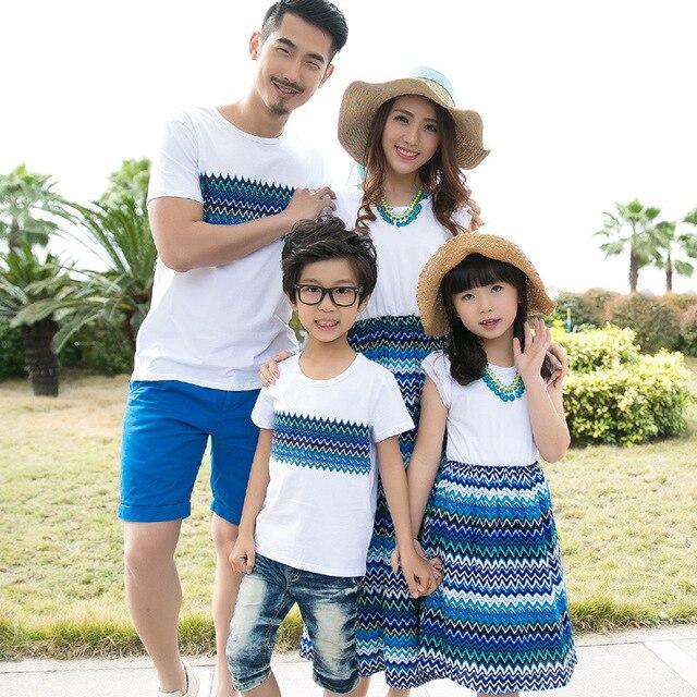 74488033d Summer mother daughter dress bohemia dress holiday beach dress ...