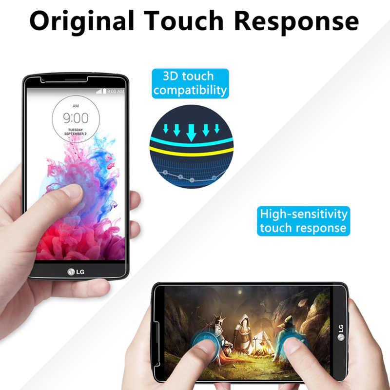 9H Hd di Protezione in Vetro per LG G5 G7 G6 G3 G2 Trasparente Protezione Dello Schermo per LG K10 Potenza 2016 k11 Pro 2017 in Vetro Temperato