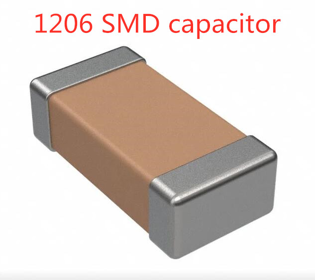 200PCS 1206 SMD Capacitor 104 103 223 473 224 472 K/m/z 50V 4.7NF 10NF 22NF 47NF 100NF 220NF 0.22 0.01 0.022 0.047 0.1uf X7R