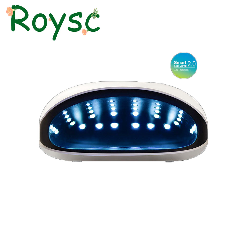 48W UVLED Professional Smart Phototherapy Machine SUN4 UVLED Nail Dryer Lamp for Curing Finger Toe Nail Gel Polish Manicure Tool жидкость domix green professional nail gel polish remuver