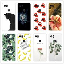 Fashion Patterns Phone Case For Coque Google Pixel 2 XL Back Cover For Google Pixel 2XL Pixel2 XL Phone Case Soft Silicone cover(China)