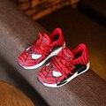 Детская Обувь Мальчиков Кроссовки 2016 Осень Мультфильм Спорт Мода Мальчики Обувь Человек-Паук Дети скольжению Дышащие Мальчики обувь
