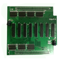hub41A Data transfer board, P3 P4 P5 P6 P7.62 P8 P10 Full color LED display screen controller,Receiving card HUB41 board