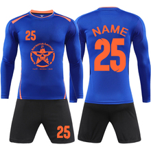 3d001700f Men Soccer Jerseys Set 2018 survetement football shirts De Foot shorts  suits Youth Long Sleeve Tracksuit