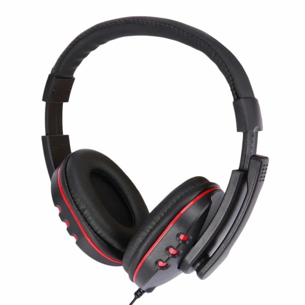 New Arrival Original Gaming Headset Headphone Stereo Computer Gamer Earphones With Mic For Xbox 360 Wired Game Controller mvpower 3 5mm stereo headphone wired gaming headset with mic microphone earphones for sony ps4 computer smartphone hifi earphone