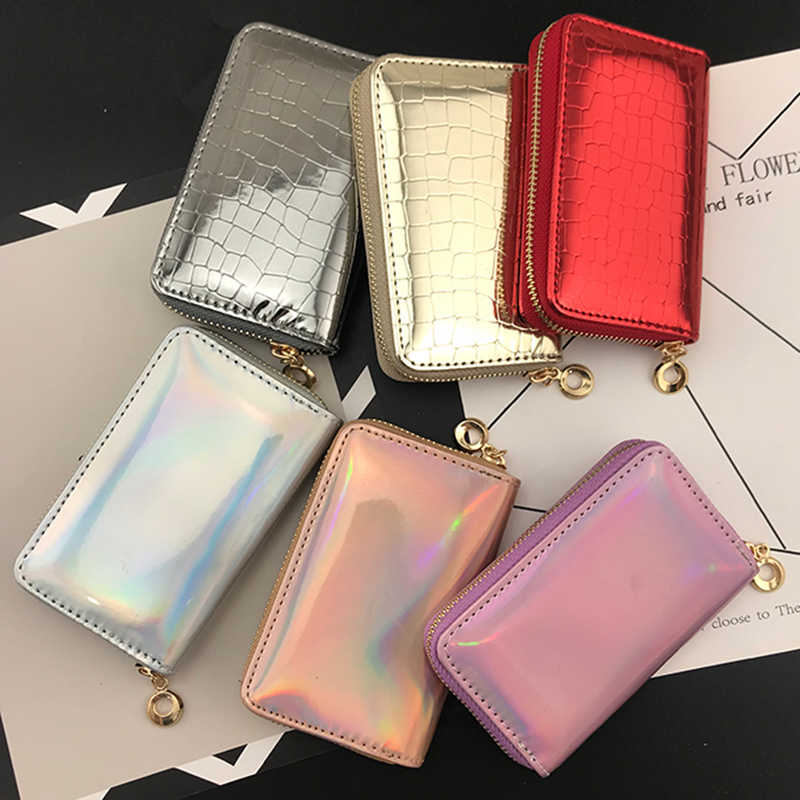 BELLO TUTTI Original Designer Purse PU Leather Women mini Wallets Fashion Cards Holders Slim Coin Pocket Purse Money small Bag