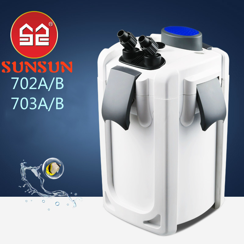 SUNSUN 220 v UV Fish tank Pond filter ultra-silenzioso acquario filtro esterno filtro secchio UVC sterilizzatore lampada purificare l'acqua alghe Rimuovere