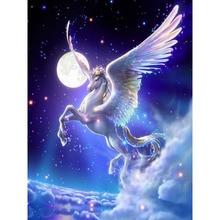 H1765 5 г Алмаз живопись,3D живопись полный Алмаз вышивка летающая лошадь