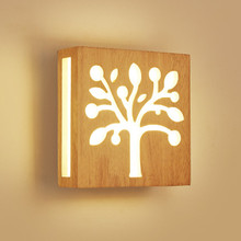 цены Modern Lighting Wooden Wall Lamp Bedroom kitchen Mirror Light Cabinet Luminaria Lamparas Applique Dining Restaurant Wall Sconce