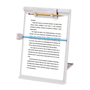 Adjustable Computer Document Holder Stand Gray Three-dimensional document holder Reading frame Profession Office Supplies - DISCOUNT ITEM  0% OFF All Category