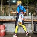 Hooded Rompers womens jumpsuit Large bodysuit for women Casual Cartoon jumpsuits Harajuku Print Hoodies Hip Hop street style
