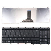 Free Shipping Original New US Layout Letter Laptop Keyboard For TOSHIBA Satellite C650 C660 L650 L670