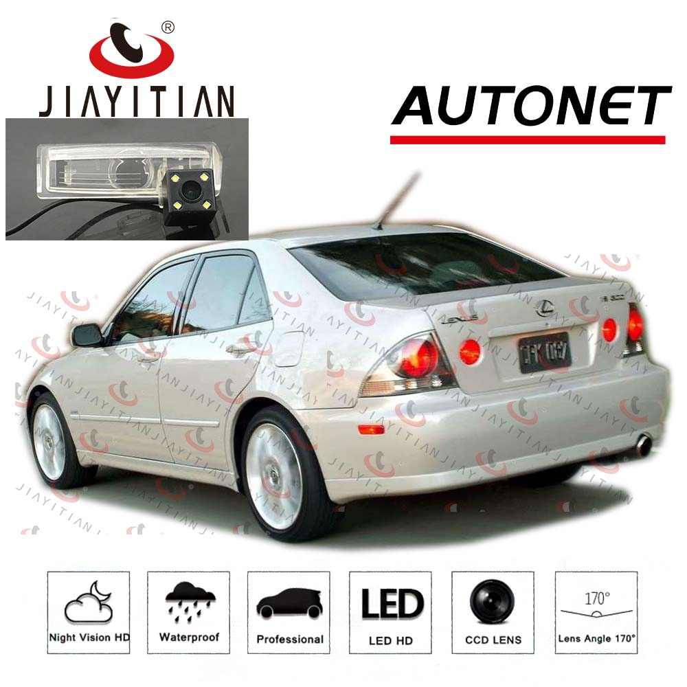 JIAYITIAN Rear View Camera For Lexus IS300 2001 2002 2003 2004 2005 XE10 Altezza Gita Backup camera license plate camera CCD