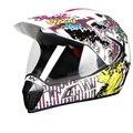 NEW cross-country casco de Doble lente de la cara llena de la motocicleta de cuatro temporadas de invierno de montaña bicicleta de carretera fuera de la carretera y casco
