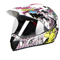 NEW cross-country motorcycle helmet Double lens full face four seasons winter mountain bike road off-road and helmet
