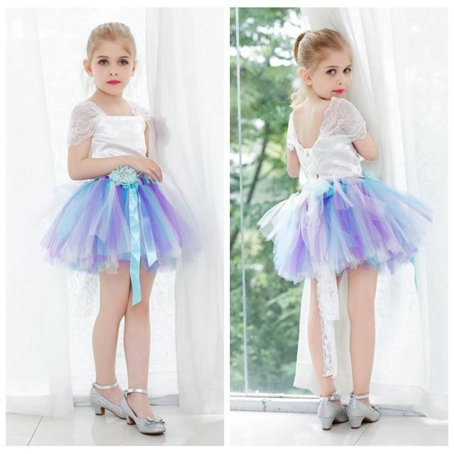 flower dress girl knee length