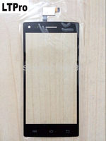 100 Original 5 0 Inch Black Glass Panel Touch Screen Digitizer For THL W11 Replacement Free