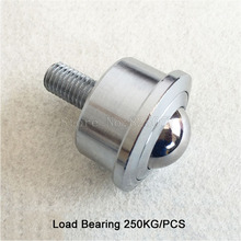 4PCS Heavy Universal ball ball bearing cattle eye ball belt with m16 screw cattle eyeball ball Load Bearing 250KG JF1351 load bearing glasses