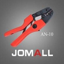 Купить с кэшбэком AN-10 crimping tool crimping plier 2 multi tool tools hands AN Ratchet Terminal Crimping Plier (European Style)