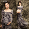 Women Skirt Maternity Photography Props Pregnancy Dresses Free Size Stretch Maternity PhotoProps Baby Shower Dress Clothes YL415