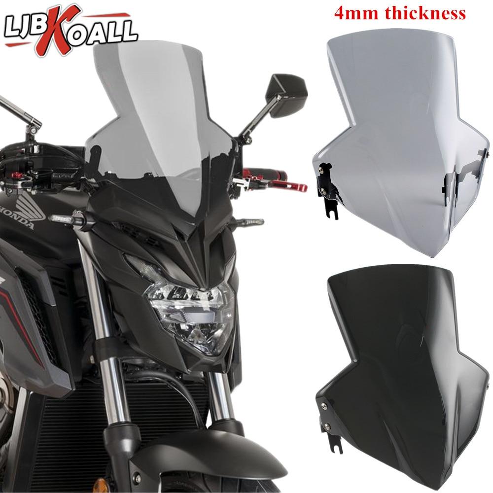 For Honda CB650F CB 650 F CB 650F 2014 2015 2016 2017 2018 ABS Windscreen Windshield